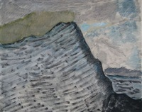 cliff and sea by milton avery