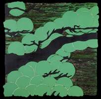 japanese pines sept 9 2006 by donald sultan