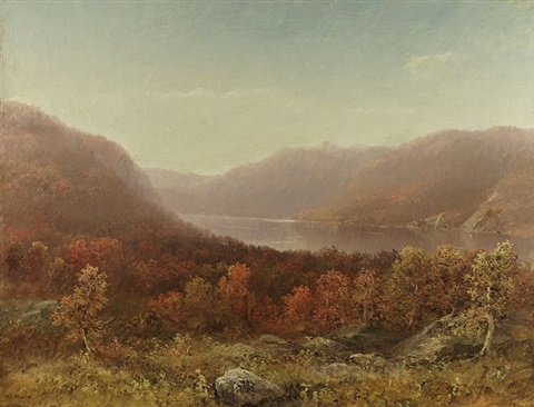 highlands on the hudson by homer dodge martin