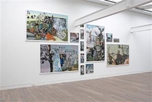 installation view: auf leben und tod - wolf hamm, 2008