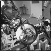 christina ricci in her dressing room, sleepy hollow, shepperton studios, surrey, england by mary ellen mark