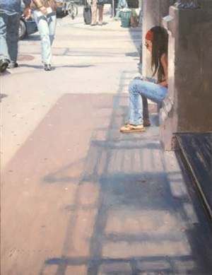morning moment by vincent giarrano (sold)