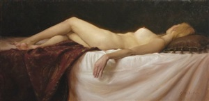 sleep by grace mehan de vito (sold)