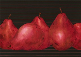 red bartlett pears by bill baily