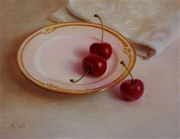 cherries by rosemary ladd (sold)
