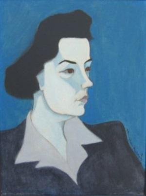 portrait of jane kootz by milton avery