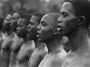 combattants ibos, guerre civile du biafra, nigeria by gilles caron