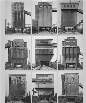 coal bunkers by bernd and hilla becher