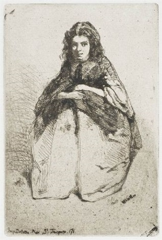 fumette by james abbott mcneill whistler