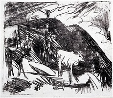 kühe in den bergen by ernst ludwig kirchner