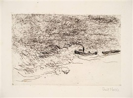 schlepper by emil nolde