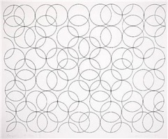 composition with circles 5 by bridget riley