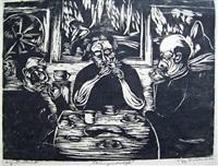 ateliergesellschaft klabund, albert einstein, jakob wassermann by philipp bauknecht
