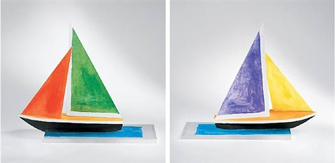 sailboat by john baldessari