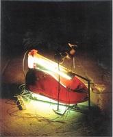 luminous shoe by george lappas