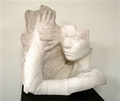 woman resting by george segal