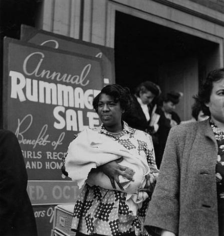 rummage sale by imogen cunningham
