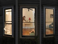 night windows by julie blackmon