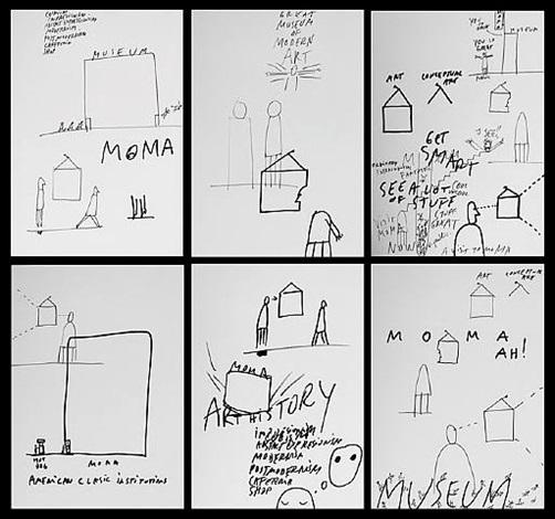 moma/nytimes drawings by dan perjovschi