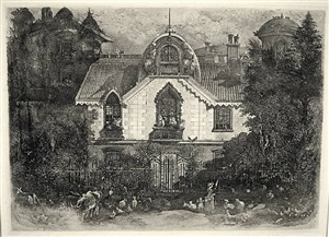 la maison enchantée (enchanted house) by rodolphe bresdin