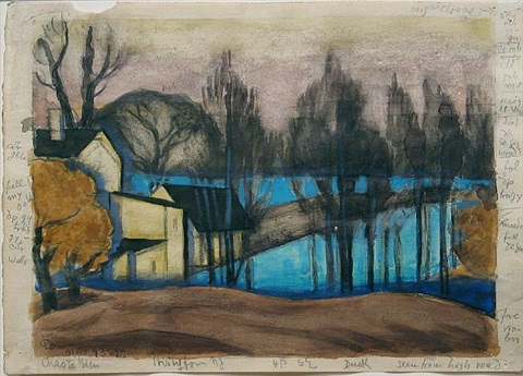 chasta view, irvington, new jersey by oscar florianus bluemner