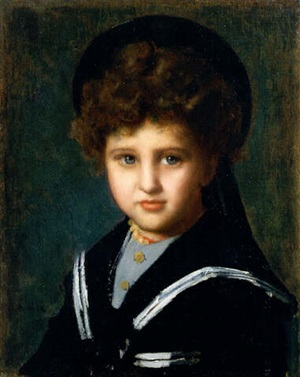 portrait of rodolphe cahen d'anvers by jean jacques henner