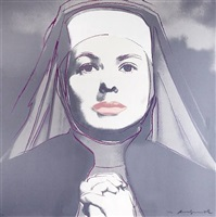 the nun by andy warhol