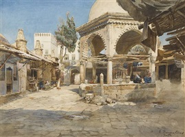 a well in jaffa by gustav bauernfeind