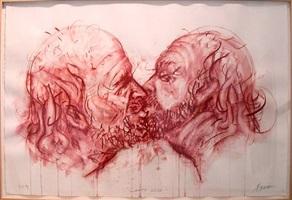 conte kiss by robert arneson