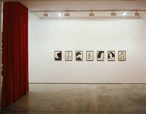 exhibition view, maureen paley by donald urquhart
