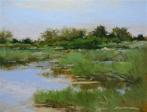 marsh at meigs point by katherine simmons (sold)