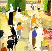 sunny day at the park by maira kalman