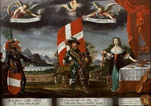 allégorie de la suisse by albrecht kauw the elder