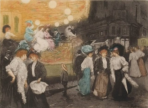le menége (the merry-go-round) by manuel robbe