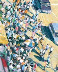 summer crowd by david kapp