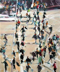 moving crowd by david kapp