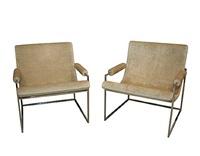 milo baughman armchair by milo baughman