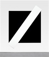 white diagonal by ellsworth kelly