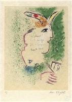 de mauvais sujets, plate 5 by marc chagall