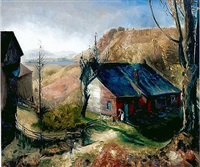 mountain farm by george wesley bellows