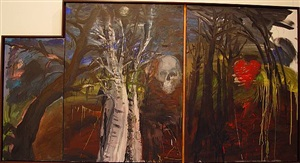 in the french forest by jim dine