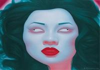 chinese portrait j series by feng zhengjie
