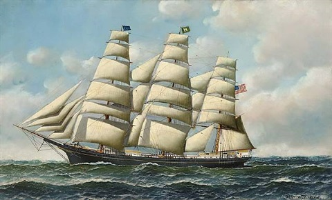 american tea clipper by antonio jacobsen