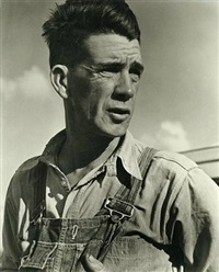 tom joad, from the grapes of wrath by horace bristol