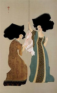 flaying the lamb by hayv kahraman