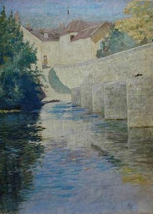 le pont de grez by francis brooks chadwick