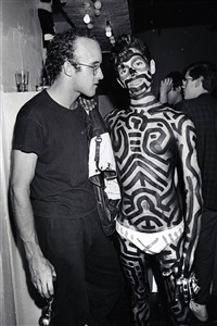 keith haring & painted boy by ben buchanan