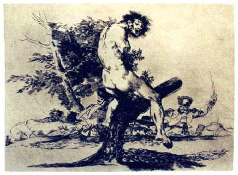 esto es peor by francisco de goya