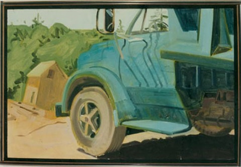 arey's truck by lois dodd