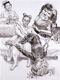 five generations of muses by paula rego
